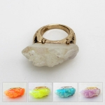 NR5013 FAUX QUARTZ POP UP RINGS