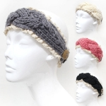 OH0590 Lace Knit Head Band