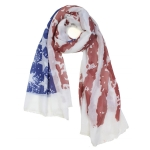 OS1125 Vintage Americana scarf