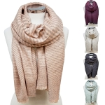 OS1249 Mohair Multi Long Scarf