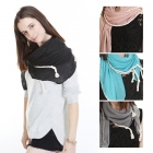 OY1033 Rope Accent Scarf