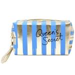 PCH135 Striped Pouch-Queen's Secret, Blue