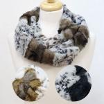 PCY5051 Animal Print Soft Faux Fur Infinity