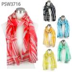 PSW3716 Geometric Print Scarf