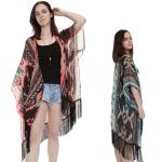 PY1038 Tribal  Kimono with Tassels