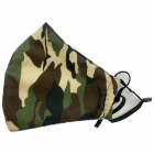 S-07 Real Camouflage Pattern Reusable Mask (12Pcs)