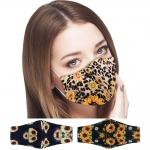 S-106 Sunflower Pattern Reusable Mask - (1Dz)
