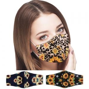 S-106 Sunflower Pattern Reusable Mask