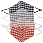 S-54 Buffalo Plaid Reusable Mask - (12Pcs)