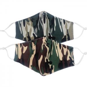 S-56 Camouflage Pattern Reusable  Mask (12Pcs)
