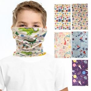 S-58 Kids UV Protection Face Cover Neck Gaiter - (12Pcs)