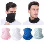 S-59 Ice Cooling Solid Color Neck Gaiter (DZ)