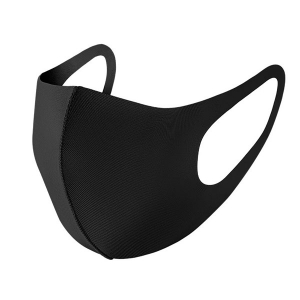 Solid Fashion Mask - Black (DZ)