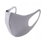 Solid Fashion Mask - Grey (DZ)