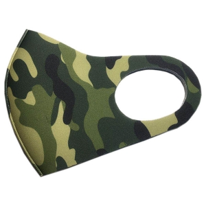 S-08 Camouflage Pattern Stretchable Mask(12Pcs)