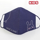 S-24 Kids Reusable Fashion Mask - Navy (12Pcs)