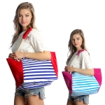 SB003 Stripe Beach Bag (Tote)