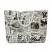 SB005 Classic Ride Print Beach Bag