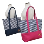 SB7008 Seahorse Accent Striped Bag