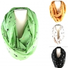 SC0002 MULTI CROSS THEME INFINITY SCARF