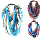 SC0007 NATIVE AMERICAN PATTERN INFINITY SCARF