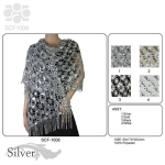 SCF1008 Sequin Party Shawl