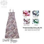 SD2634 Smoked Tub Maxi Dress with Adj