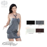 SD664 O Ring Short Dress halter dress