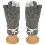 SG411 Knitted Glove, Dark Grey