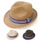 SH4105 Fedora Hat Stripe Band