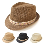 SH4107 Fedora Chevron Band