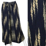 SL4202-1 Unbalanced Gaucho Pants