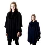 SP4513 Faux Fur Cape
