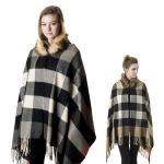 SP4519 Hood with Fur Shawl