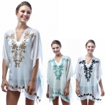 SP4600 EMBROIDERY PONCHO / COVER UP