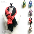 SS204 Two Tone Solid Scarf