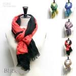 SS204 Elegant two tone scarf (Value Pack Sale)