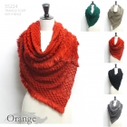 SS224 Triangle Scarf with Fringe