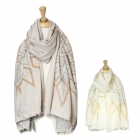 SS2622 Soft Sun Abstract Pattern Scarf