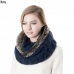 SS2741 Knit Infinity with Fur