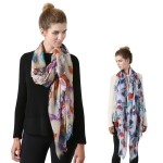 SS2770 Colorful Diamond Wool Scarf