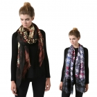 SS2771 Color Houndstooth Wool Scarf