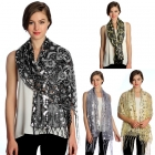 SS2781 Pattern Sequin Party Shawl
