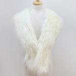 SS2801 Faux Fur Shawl Scarf