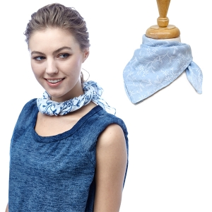 SS2926 Square Neck Scarf