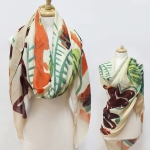 SS2957 TROPICAL LEAF SCARF