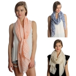 SS2963 Check Pattern Scarf