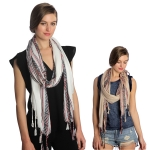SS2967 END STRIPE SCARF