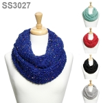 SS3027 CHUNKY SOFT KNITTED INFINITY
