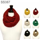 SS357 VERY SOFT CHUNKY KNIT INFINITY